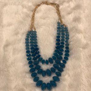 Beautiful blue turquoise necklace